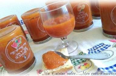 Confiture de patate douce cannelle-vanille