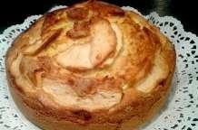 Gateau de yaourt aux pommes