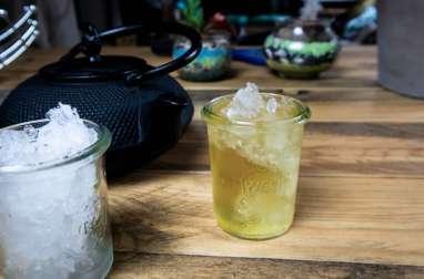 Thé glacé citron-mango