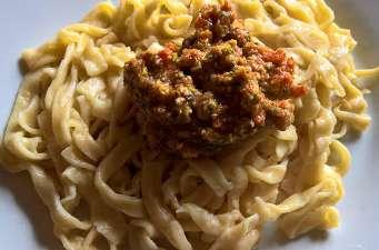 Pesto de tomates et pistaches