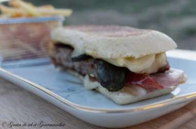 Paninis-Burgers de porc à la cubaine