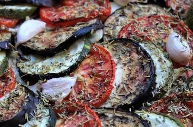 Tarte à l'anchoyade façon tian de légumes