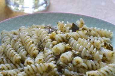 Pâtes aux feuilles de vigne