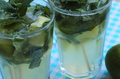 Cocktail mojito cubain