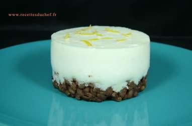 Cheesecake au citron et graines d'épeautre