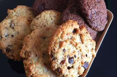 Cookies au chocolat vegan
