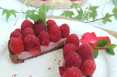 Tartelettes panna cotta framboise
