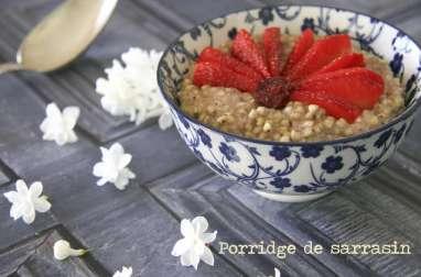 Porridge de sarrasin