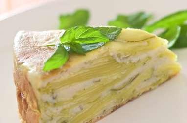 Gâteau de Courgettes au Chèvre