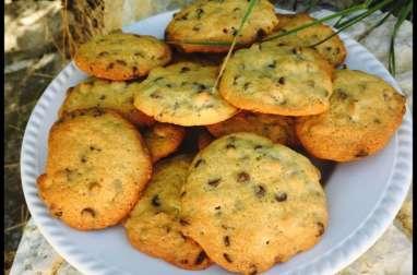 Cookies noisettes et pépites de chocolat
