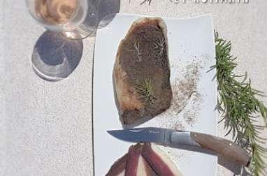 Magret séché au poivre et romarin