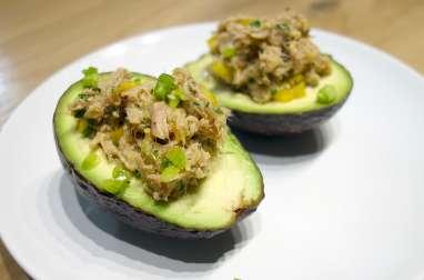 Avocats farcis au thon