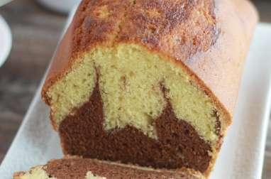 Gâteau marbré au chocolat de ma tante