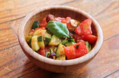 Poêlée fondante et croquante de légumes du soleil