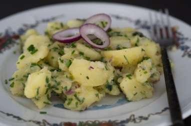 Salade de pommes de terre alsacienne