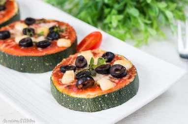 Rondelles de courgettes façon pizza