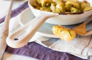 Gnocchis à la fécule de tapioca