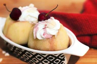 Pommes farcies à la cerise