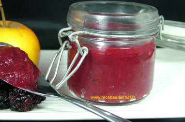 Compote pomme mûre