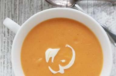Velouté de carottes au fromage