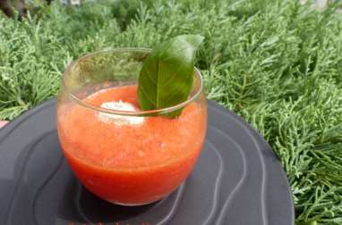Gaspacho de pastèque