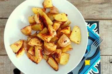 Potatoes au four au sirop d'érable