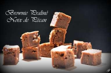 Brownie praliné noix de pécan