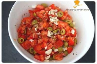 Salade fraîcheur à la tomate
