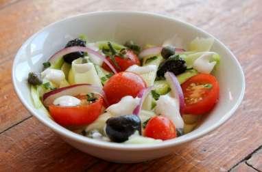 Salade de courgette crue