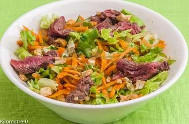 Salade thaïe de boeuf