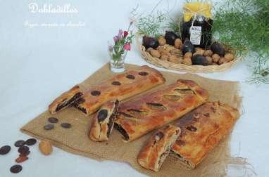 Dobladillos figue,amande ou chocolat
