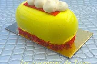 Petits gâteaux citron fruits rouges