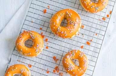 Donuts light au four