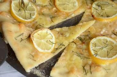 Pizza citron parmesan