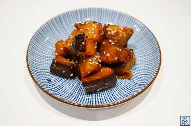 Aubergines à la japonaise