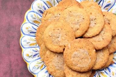 Biscuits sucrés à la coriandre