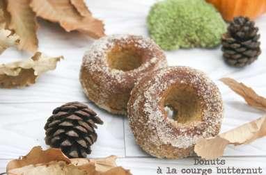 Donuts à la courge butternut cuits au four