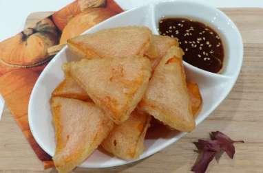 Beignets de courge façon tempura