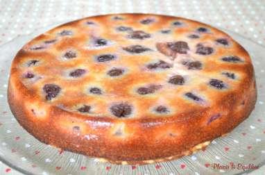 Gâteau renversé aux quetsches