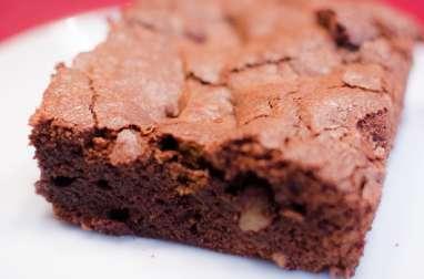 Brownie aux noix fraîches et aux spéculoos