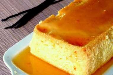 Crème caramel géante au mascarpone
