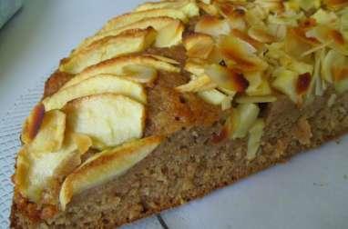 Moelleux vegan aux pommes amandes et dattes