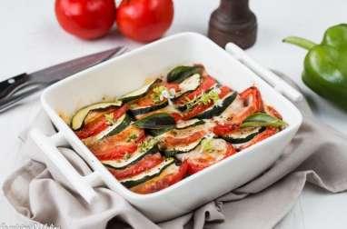 Gratin de légumes d'été