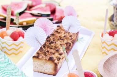 Mon crumb cake à l'ananas