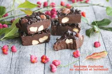 Bouchées fondantes au chocolat à la butternut