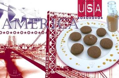 Whoopies au chocolat et caramel beurre salé