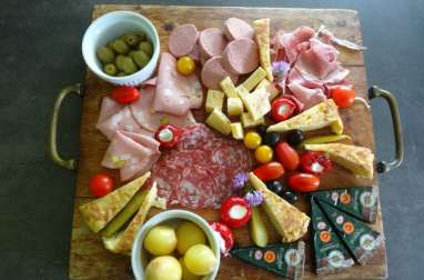 Planches apéritif - charcuteries fromages