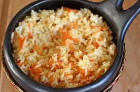 Riz et carottes aux epices express cookeo