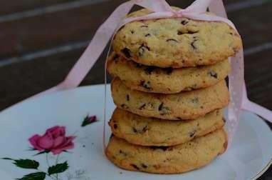 Cookies au pralin et pépites de chocolat