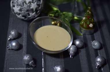 Sauce crémeuse au foie gras